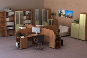 Набор офисной мебели Диалог 4 - Мебельная фабрика «Шадринская»