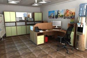 Набор офисной мебели Диалог 5 - Мебельная фабрика «Шадринская»