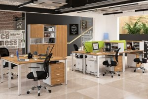Набор офисной мебели Квадро - Мебельная фабрика «Уфамебель»
