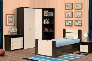 Набор подростковой мебели Тандем (вариант компановки №3) - Мебельная фабрика «Виктория»