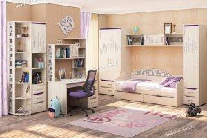 Набор подростковой мебели Мегаполис 1 - Мебельная фабрика «Витра»