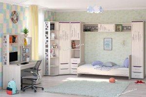 Набор подростковой мебели Мегаполис 2 - Мебельная фабрика «Витра»