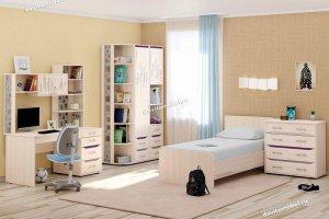 Набор подростковой мебели Мегаполис 3 - Мебельная фабрика «Витра»
