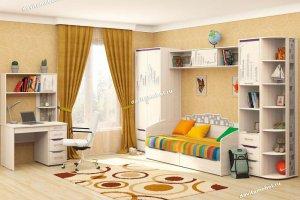 Набор подростковой мебели Мегаполис 4 - Мебельная фабрика «Витра»