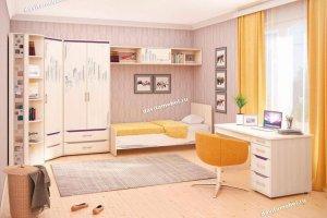 Набор подростковой мебели Мегаполис 5 - Мебельная фабрика «Витра»
