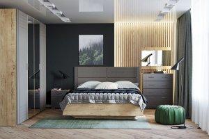 Набор в спальню Livorno - Мебельная фабрика «Сильва»