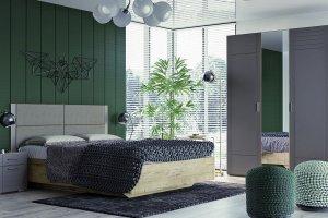 Спальный гарнитур Livorno - Мебельная фабрика «Сильва»