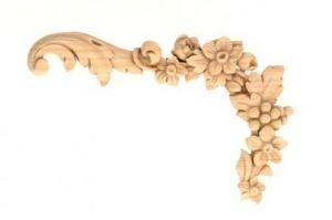 НАКЛАДНОЙ ДЕКОР Артикул: 5-153 R - Оптовый поставщик комплектующих «Мебельная мастерская Строгановых»