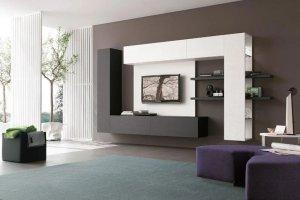 Навесная гостиная 7 - Мебельная фабрика «Арт Мебель»
