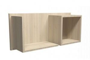 Навесная полка Комби - Мебельная фабрика «Балтика мебель»