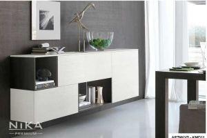 Комод навесной распашной Кантри - Мебельная фабрика «NIKA premium»