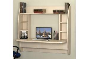Навесной компьютерный стол Лотос КСН-11Н - Мебельная фабрика «Ная»