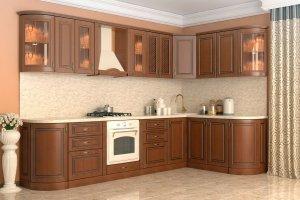 Угловая кухня Неаполь - Мебельная фабрика «Алмаз-мебель»