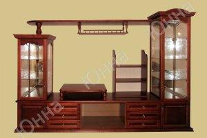Небольшая деревянная стенка - Мебельная фабрика «ЮННА»
