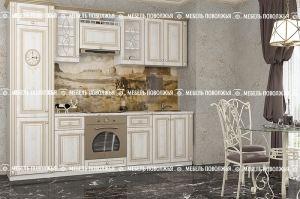 Небольшая кухня Канзас МДФ - Мебельная фабрика «Мебель Поволжья»