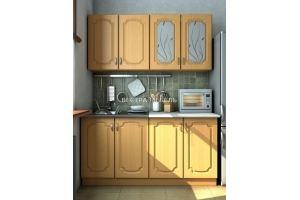 Небольшая кухня Валенсия бук матовая - Мебельная фабрика «Вестра»