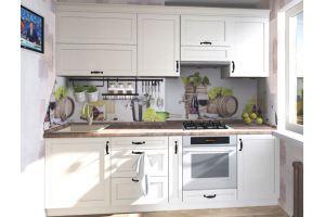 Небольшая прямая кухня - Мебельная фабрика «Антей»