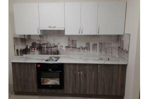 Небольшая прямая кухня - Мебельная фабрика «Гранд Мебель»