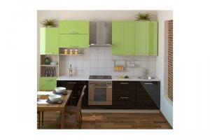 Небольшая прямая кухня Брианна - Изготовление мебели на заказ «КухниДар»