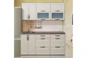 Небольшая прямая кухня Гурман 10 - Мебельная фабрика «Аджио»