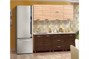 Небольшая прямая кухня Гурман 9 - Мебельная фабрика «Аджио»