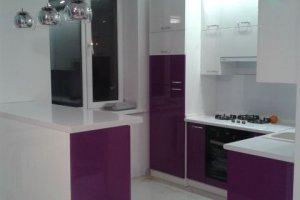 Небольшая угловая кухня - Мебельная фабрика «Удобна»
