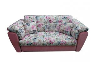 Небольшой диван с цветочным рисунком - Мебельная фабрика «МебельБренд»