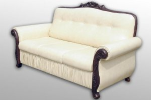 Небольшой диван в классическом стиле Юбилейный - Мебельная фабрика «Монарх»