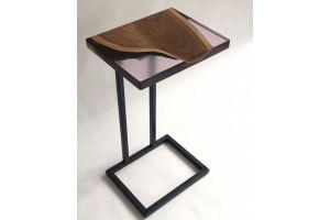 Небольшой приставной столик из дерева - Мебельная фабрика «Thunder cloud»
