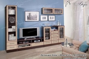 Гостиная стенка Некст-4 - Мебельная фабрика «Дара»