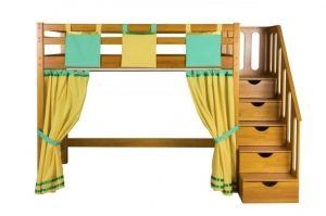 Кровать-чердак в детскую Непоседа - Мебельная фабрика «Мебель Холдинг»