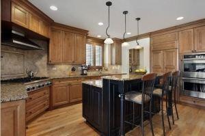 Нестандартный кухонный гарнитур - Мебельная фабрика «Wood&Wool»