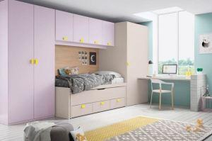 Нежная детская Оригами 29 - Импортёр мебели «Piccoly»