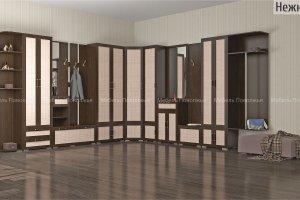 Большая угловая прихожая Нежность - Мебельная фабрика «Мебель Поволжья»