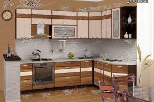 Угловая кухня Никея - Мебельная фабрика «Дара»