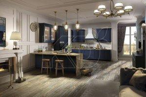Новая Кухня Эрика - Мебельная фабрика «Кухонный двор» г. Малаховка