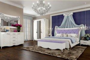 Новая спальня Аделина - Мебельная фабрика «АСМ-модуль»