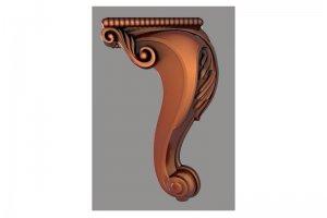 Ножка для мебели 001 - Оптовый поставщик комплектующих «Рельеф Студия»