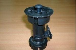 Ножка кухонная 100-130 черн (200*) Ч - Оптовый поставщик комплектующих «Виком»