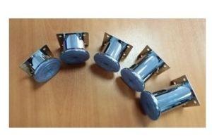 Ножка мебельная 50/40 мм хром (100*) - Оптовый поставщик комплектующих «Виком»