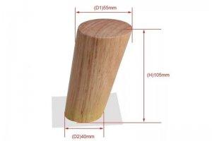 Ножка мебельная деревянная - Оптовый поставщик комплектующих «Мебельный ЦЕХ»