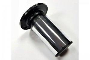 Ножка мебельная Н=100х50 мм (регул. крул. пласт) хром (50*) - Оптовый поставщик комплектующих «Виком»
