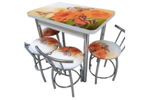 Обеденная группа Бабочки - Мебельная фабрика «Люкс-С»