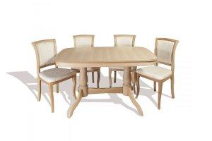 Обеденная группа Комфорт МО и стулья СМ 09 - Мебельная фабрика «ТехКомПро»
