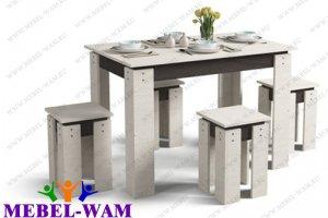 Обеденная группа Лайт - Мебельная фабрика «Мебель Вам»