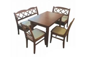 Обеденная группа Мальвина 1 - Мебельная фабрика «Прима-мебель»