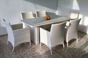 Обеденная группа на 6 персон - Мебельная фабрика «АртРотанг»