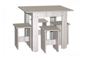 Обеденная группа НДК 5 стол и 4 табурета - Мебельная фабрика «Планета Мебель»