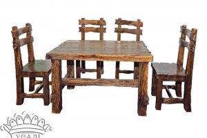 Обеденная группа под старину Богатырская - Мебельная фабрика «Усад»
