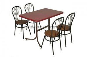 Обеденная группа Ромашка Паук 2 - Мебельная фабрика «Артикул-Мебель»